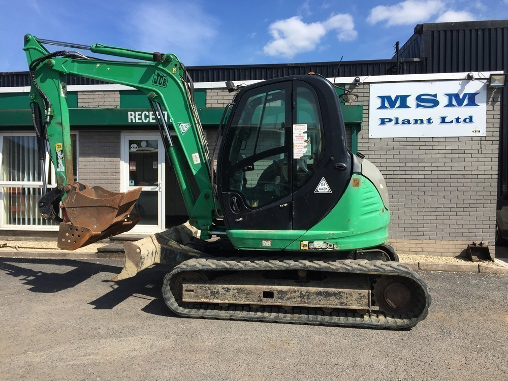 Jcb 8080 Zts 8 Ton Excavator Msm Plant Plant Equipment